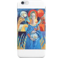 Crying angel iPhone Case/Skin