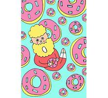 mrs donut man Photographic Print