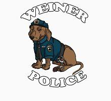 WEINER POLICE WOO WOO - Red Unisex T-Shirt