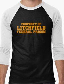 Litchfield  Men's Baseball ¾ T-Shirt