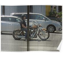 Photo Motorcycle Poster