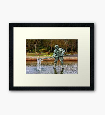 The Lytham Shrimper Framed Print