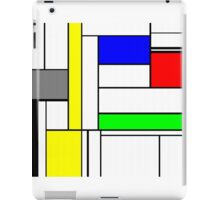 Faux Mondrian September iPad Case/Skin