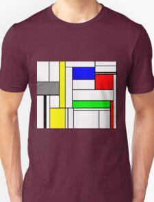 Faux Mondrian September T-Shirt