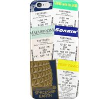 Epcot fastpass phone case iPhone Case/Skin