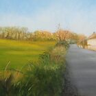 Country Road in Fingal by Geraldine M Leahy