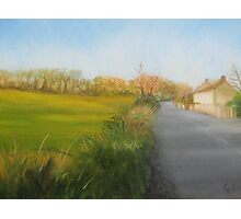 Country Road in Fingal Photographic Print