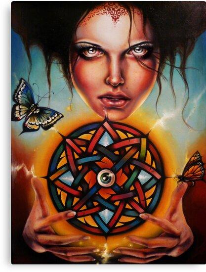 Wheel Of Fortune  by Sylvia Lizarraga