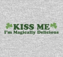 Kiss Me I'm Irish One Piece - Long Sleeve