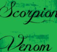 Scorpion Venom Sticker