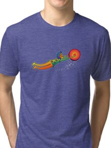 catch a red moon sacred drum... Tri-blend T-Shirt