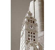 Chicago Clocktower Photographic Print