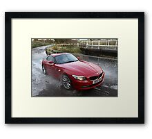 Red Zed Wet, Wet, Wet Framed Print
