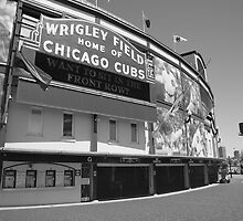 Chicago Cubs - Wrigley Field by Frank Romeo