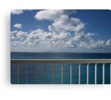 Balcony Canvas Print
