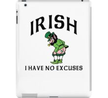 Funny Irish iPad Case/Skin