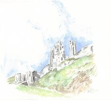 Corfe Castle, Dorset Photographic Print