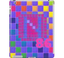 Vaporwave-The Neon of 1986 Pixel Logo: N86 iPad Case/Skin