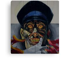 Wouldn't want to meet him on a dark night!! Canvas Print