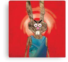 Mad Lady Rabbit Canvas Print