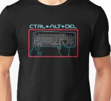 Ctrl-Alt-Del Retro Unisex T-Shirt