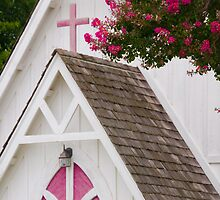 """""""Heavenly Pink"""" - church in Solomons, Maryland by John Hartung"""