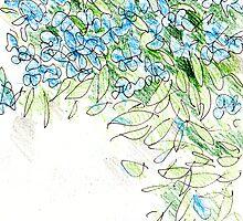 Blue Flowers by Artistuk