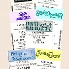 Magic Kingdom fastpass phone case by Emily2015