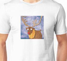 A Slightly Anxious Reindeer! Unisex T-Shirt