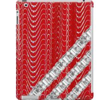 Red Rhinestones iPad Case/Skin