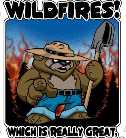 Wildfires!!! Sticker