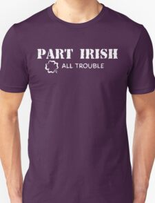 Part Irish All Trouble Unisex T-Shirt
