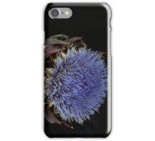 Artichoke flower iPhone Case/Skin
