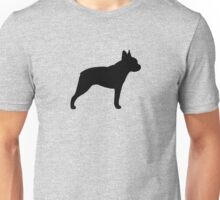 Boston Terrier Silhouette(s) Unisex T-Shirt