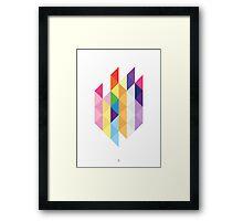 My Little Pony - Mane Six Abstraction I Framed Print