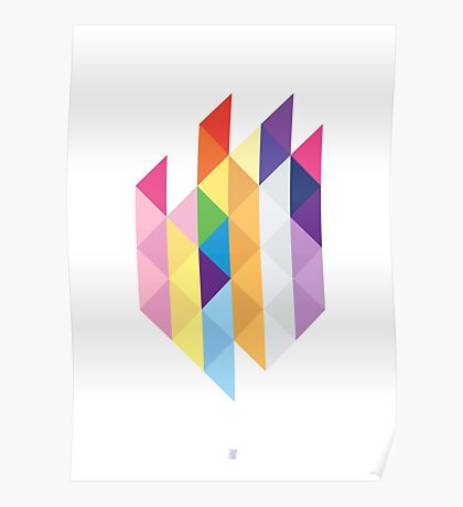 My Little Pony - Mane Six Abstraction I Poster