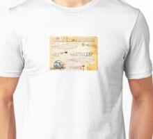 THE ZEPPELIN POOBOMBER SCHEMATIC Unisex T-Shirt