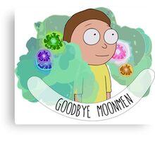 Rick and Morty - Fart - Moonmen Canvas Print