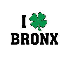 I Love (Shamrock) Bronx Photographic Print