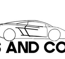 Cars and Coffee Sticker