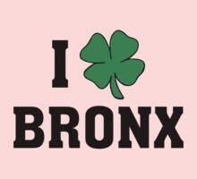 I Love (Shamrock) Bronx Kids Tee