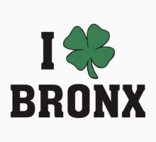 I Love (Shamrock) Bronx One Piece - Long Sleeve