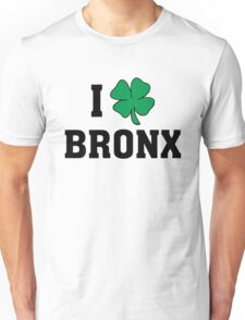 I Love (Shamrock) Bronx Unisex T-Shirt
