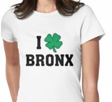 I Love (Shamrock) Bronx Womens Fitted T-Shirt