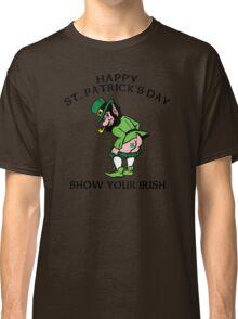 "St. Patrick's Day ""Show Your Irish"" Classic T-Shirt"