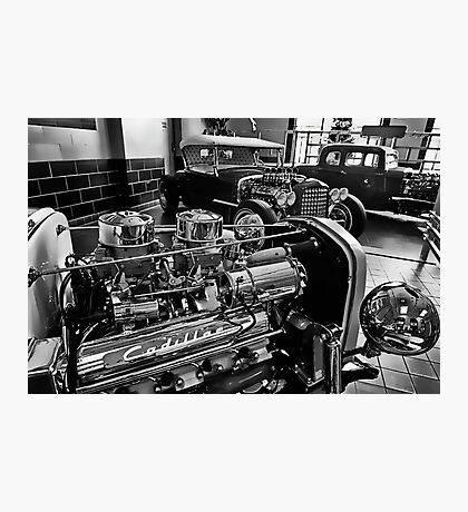 Shiny Cadillac Photographic Print
