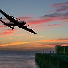 Sunset Lancaster by SWEEPER
