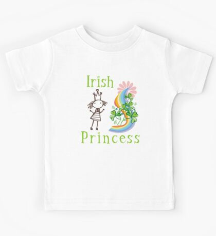 Irish Princess Kids Tee