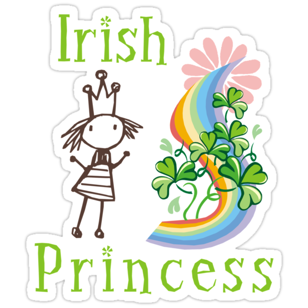 Irish Princess by HolidayT-Shirts