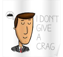 I don't give a crap Poster